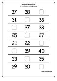 Printable Missing Numbers Worksheets,Home Schooling Worksheets ...Missing Numbers, Missing Numbers