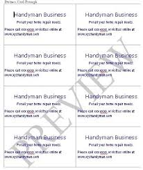 handyman business handyman business forms templates