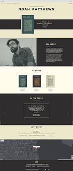 Book Author Website Design Author Website Template Website Template Website Design
