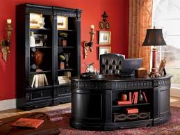 home office decoration idea with luxurious furnishing