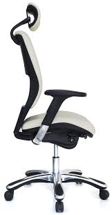 office chair genuine leather white. Ergolux Genuine Leather High-Back Executive Office Chair · View Larger White H