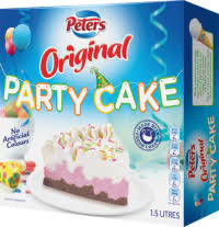 Party Cake Peters Ice Cream