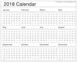 2018 Calendar Printable Free Uk Usa Nz Canada South Africa