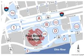 Parking Cincinnati Bengals Vs Cleveland Browns Tickets Sun