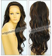 Fs4 27 Color Chart Sepia Lace Front Wig Laurel Heat Resistant Synthetic Fiber