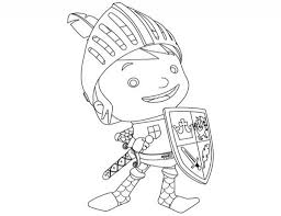 Small Picture Mike Knight Coloring PagesKnightPrintable Coloring Pages Free
