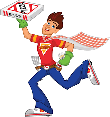 pizza delivery clipart. Contemporary Delivery Mercury Pizza Delivery Man Intended Clipart I