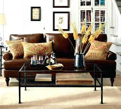 brown leather couches decorating ideas.  Brown Leather Couch Pillows Dark Brown Sofa Decorating Ideas What Color For Black  To Match Throw Intended Couches H