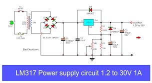 Shunt Regulator Circuit Design Variable Voltage Regulator Power Supply Circuit Is Designed