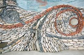 stone wall art installations on stone wall artist with artist couple creates gorgeous stone wall art installations cube