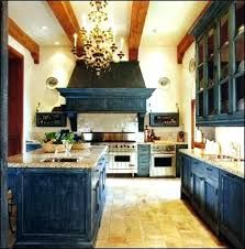 distressed blue kitchen cabinets distressed paint finish kitchen cabinets pictures concept