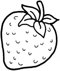 Free Printable Strawberry Coloring Page 92 In Line Drawings With