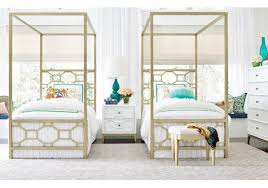 Chelsea Metal Canopy Twin Bed By Legacy Classic Kids