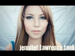 jennifer lawrence make up transformation