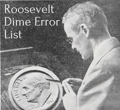 Roosevelt Dime Value Chart Roosevelt Dime Error List Hobbylark