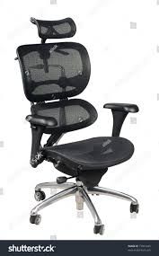 adjustable office chairs. Fully Adjustable Ergonomic Office Chair Isolated On White Background. Chairs