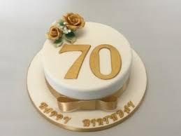 70th Birthday Cake Celebration Cakes Cakeology
