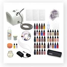 makeup rosacea on professional airbrush kits by dinair
