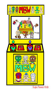 monster baby wrestling video game cartoon arcade system horror wee kid cartoon anime chibi kawaii