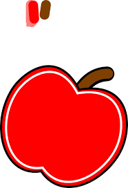 Apple Red Fresh Fruit Transparent Image