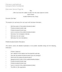Failure To Report An Incident Mechanical Analysis Template