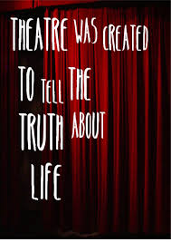 40 Theater Quotes 40 QuotePrism Magnificent Theater Quotes