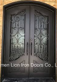 Iron Man Door Design Hot Item Best Price Main Entrance Design Exterior Metal Door For House