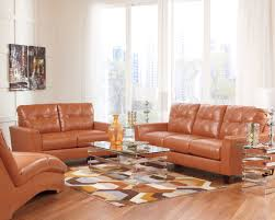 orange living room furniture. Paulie DuraBlend® - Orange Stationary Living Room Group By Benchcraft At Marlo Furniture I
