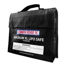 COMMON SENSE RC Magnum XL Lipo Safe <b>Charging</b>/<b>Storage Bag</b> ...