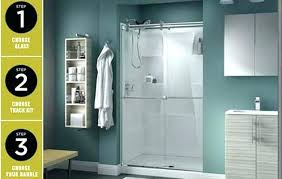 shower door tracks cleaning sliding how to clean glass tool