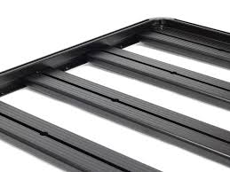 Hilux Revo DC (2016-Current) Slimline II Roof Rack Kit - by Front ...