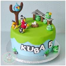 206 best Angry birds cake images on Pinterest