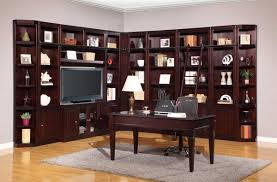 office library furniture. Parker House Boston Library Bookcase Wall Unit Set - A Office Furniture