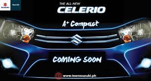 new car releases 2015 philippinesAllnew 2015 Suzuki Celerio is coming soon  Team Suzuki Philippines