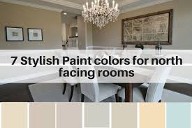 7 stylish paint colors for north facing