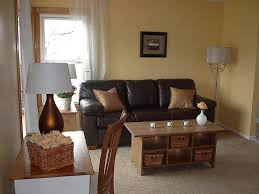 Yellow Brown Living Room Living Room Living Room Handsome Image Of Brown And Black Living