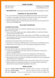 7 Example Of A Resume For Hotel Job Pennart Appreciation Society