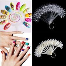 Nail Color Chart 10x Manicure Nail Polish Tips Color Chart Palette Nail Art
