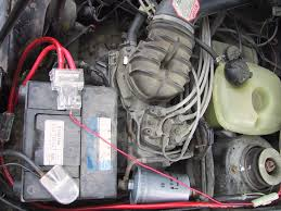 vwvortex com 8v build~84 rabbit wolfsburg drop top here is a pic of a mystery plug in the back behind the air sensor box it has 3 wires leading to a female 5 slot plug