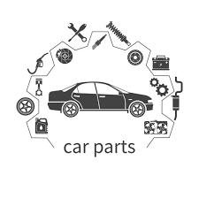 ᐈ auto parts logo design stock pictures