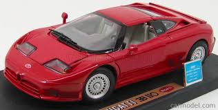 It was the only production model made by romano artioli's italian incarnation of bugatti. 1 18 Anson Bugatti Eb 110 Cameron S Model Cars