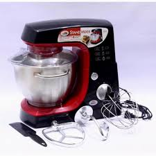 specifications of heavy duty kyowa kw 4512 8 sd 5 liters stand mixer with accessories red black