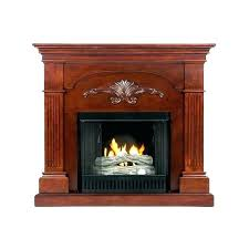 fireplace gel fuel fueled fire pit logs corner ventless insert arch top wall mounted g