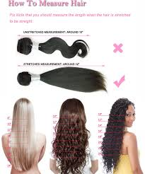 Hair Length Chart Weave Straight New Natural High Ponytail Kinky Straight Full Lace Wig