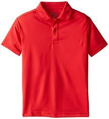 Amazon Com Izod Boys Active Short Sleeve Uniform Polo