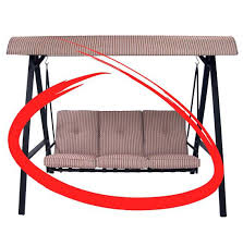 Replacement Cushions For Outdoor Swing Best Outdoor Swing With