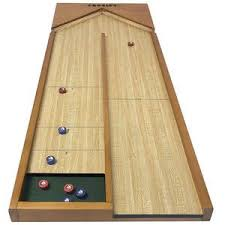 Homemade Wooden Games Shuffle Board My husband's family taught us this game We 13