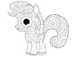 Pony Kleurplaat Pony Pony Vector My Little Pony Litle Pony