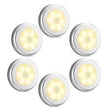Bathroom Led Night Lights Motion Sensor Light Closet Lights Stair Lights Cordless