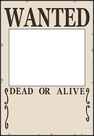 wanted photoshop template free printable wanted poster a free printable wanted poster